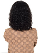 Auspiciouswig Short Curly Afro Human Hair Glueless Full Lace Front Wigs for Black Women