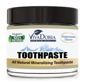 Viva Doria Fluoride Free Natural Mineralizing Toothpaste - Peppermint
