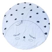 YJYdada Baby Infant Toddelrs Kids Cotton Soft Playmats Creeping Mat Sleeping Games Blanket Round