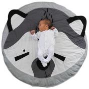 YJYdada Soft Cotton Cartoon Crawling Playmat Sleeping Blanket for Baby Toddlers Newborn