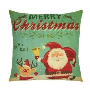 ✿Moseâ . !Christmas Series Pillowcase, Lovely Cartoon Sofa Cushion Home Decoration