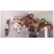 Huijukon Jumbo Toy Hammock Storage Net Organiser for Soft Stuffed Animals, Nursery Play, Teddies(210cm x 150cm x 150cm )