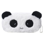 Sinfu 1PC Cartoon Stationery Pencil Case Plush Large Pen Bag For Office Kids
