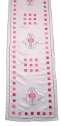 Scottish Charles Rennie Mackintosh Embroidered & Appliqued Long Table Runner Kitchen Dining RM13