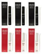 Callas Eyelash Adhesive 3 Clear and 3 Black