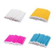 Hosaire Lip Brush 200 Pcs Disposable Lip Gloss Applicators Lipstick Brushes Wands Beauty Makeup Tool Kits