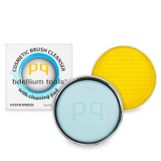 Bdellium Tools Cosmetic Brush Cleanser (Solid Brush Soap) with Cleaning Pad - Ocean Breeze Scent