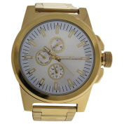 Louis Villiers Lvag3733-17 Gold Stainless Steel Bracelet Watch Watch For Men 1 Pc