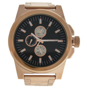 Louis Villiers Lvag3733-7 Rose Gold Stainless Steel Bracelet Watch Watch For Men 1 Pc