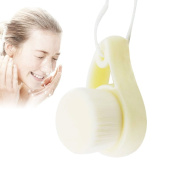 Facial Cleansing Brush Manual, Ultra Soft Exfoliating Face Cleanser Brush for Deep Pore Cleansing by COBEST