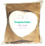 Evergreen Sachet Bath Bomb - Evergreen and Sweet Floral Fragrance - Fizzy Skin Softening Relaxation