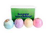 BIRTHDAY GIFT! MEGA Bath Bombs! BIRTHDAY IN A BOX! Choose Your Scent!