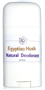 Egyptian Musk Natural Deodorant - Subtle Feminine Musk - Natural Odour Control Blend with Absorbent Clays and Powders
