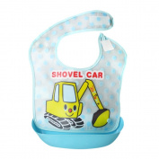 Baby Bibs, Rcool Cute Baby Kid Cartoon Waterproof Feeding Apron Saliva Towel Bib Tops