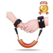 Anti-lost Wrist, XYXtech Anti Lost Safety Elastic Wire Traction Hand Rope/Bungee Leash Safety Harness for Kids Children Toddler,Travelling Shopping Exploring Helper