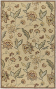 Surya Rain 1.5m x 2.4m Hand Hooked Rug in Neutral
