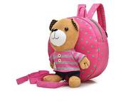 Kids Child Anti-lost Walking Cartoon Bear Shoulder Bag Harness Safety Strap Backpack