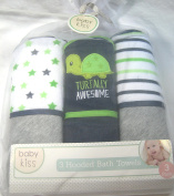 3 Pack Hooded Baby Boy Towels By Babykiss Assorted Designs Turtally Awesomwe