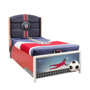Cilek Kids Room Soccer Collection, Storage Bed with Mattress