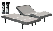 leggett & platt S-Cape Split King 2.0 Adjustable Wireless Wall Hugger Bed Base