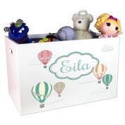 Child's Toy Box Personalised Hot Air Balloons