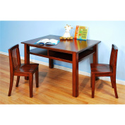 Table and Chair Set - Espresso