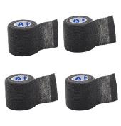 Black Sensi-Wrap for Tattoo Aftercare - Lightweight Self-Adherent Bandage (5.1cm x 1.5m)