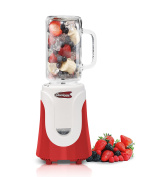 Americana EPB-6050R Personal Blender with 590ml Glass Jar, Red