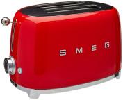 Smeg 2-Slice Toaster-Red