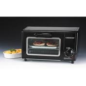 Farberware FSTO400B 4-Slice Toaster Oven, Black