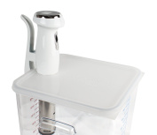 Cellar Made Sous Vide lid for Gourmia cookers fits Rubbermaid 12,18 & 20.8l containers