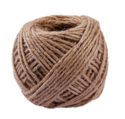 Moonight 40m Coloured Binding Natural Jute Twine DIY Decorative Rope for Art Craft Wedding and Gift Tags Wrap