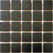 C 39 Night Black - 1.9cm Glass Tile - 0.2kg bag - Hakatai Glass Tile