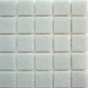 A 35 Cinderblock - 1.9cm Grey Glass Tile - 0.2kg bag - Hakatai Glass Tile