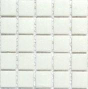 A 21 Porcelain - 1.9cm White Glass Tile - 0.2kg bag - Hakatai Glass Tile