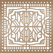 Ultimate Crafts The Ritz Stencil 15cm x 15cm -Architecture