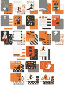 Trick Or Treat Double-Sided Journal Cards 24/Pkg-7.6cm x 10cm