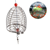 Wivily Shrimp Bait Trap Cage Feeder Basket Holder Lure Fish Accessories