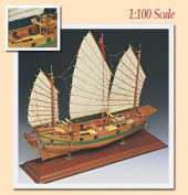 Chinese Pirate Junk - Wooden Model Ship Kit by Amati