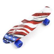 Meteor Retro Cruiser Board Deck Penny Colour Skateboard Skate Skater Plastic Complete Sport City Style