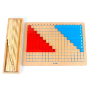 Montessori Addition Subtraction Strip Board Math Toys for Early Childhood Educational Preschool Kids Math Toys
