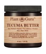 Tucuma Body Butter 120ml 100% Pure Raw Fresh Natural Cold Pressed. Skin Body and Hair Moisturiser, DIY Creams, Balms, Lotions, Soaps.