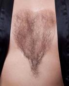 Chest Hair Fake Bushy Macho Man She-man Human Hair Fibre #947 Sepia Costume Wigs,Facial Black