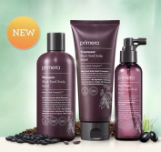 PRIMERA Black Seed Scalp Relief Shampoo 300ml Treatment 200ml and Tonic 150ml