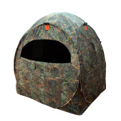 Leader Accessories Spring Steel Doghouse Hunting Blinds, Camouflage