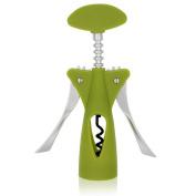 Red Wine Opener Waiters Corkscrew Wine Opener ABS All-in-one Corkscrews Ergonomic Wing Corkscrew Green Colour by BAIRUN