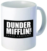 Dunder Mifflin The Office - Funny coffee mug by Donbicentenario - 330ml - SHIPS FROM USA