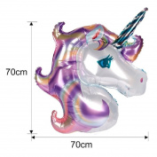 100cm Rainbow Unicorn Balloon Cartoon Inflatable