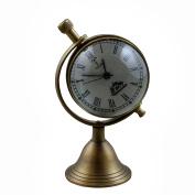Decorative Desk & Shelf Clocks Vintage Style, 10cm for Office, Home & Kitchen