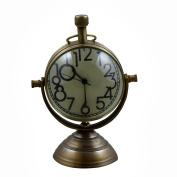 Antique Desk & Shelf Clocks Vintage Style, 10cm for Office, Home & Kitchen